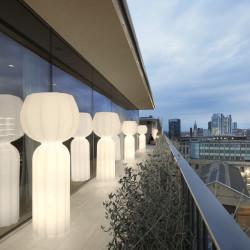 Lampe de sol Cucun, Slide design h190cm