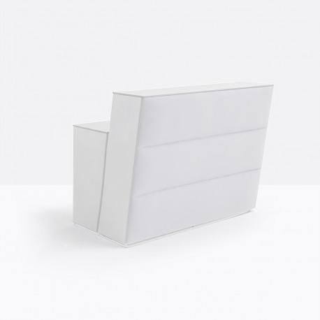 Bar central Oblique soft, Pedrali blanc