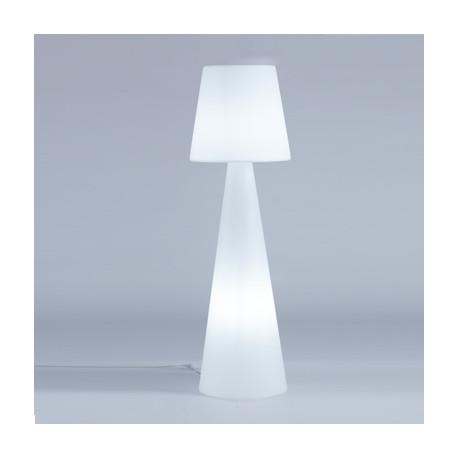 Lampadaire Pivot Intérieur hauteur 1,45 m, Slide Design blanc