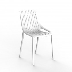 Chaise Ibiza à barreaux, Vondom blanc