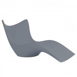 Chaise Longue Surf, Vondom gris argent