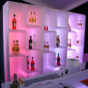 Etagère Baraonda, MyYour, lumineuse à LED RGBW