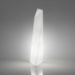 Lampadaire Manhattan In, Slide Design blanc
