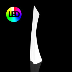 Lampadaire design Wing, Vondom, Lumineux LED RGBW Outdoor