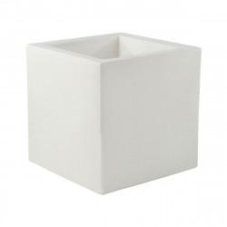 Pot Cubo 50 cm, double paroi, avec réserve d\'eau, Vondom blanc