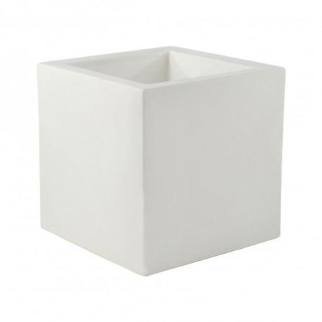 Pot Cubo 50 cm, double paroi, avec réserve d'eau, Vondom blanc