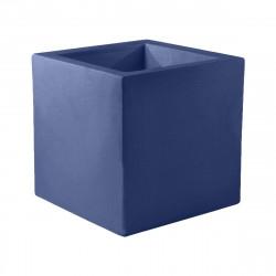 Pot Cube 50x50x50 cm, simple paroi, Vondom bleu marine