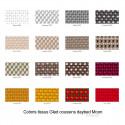 Ulm Moon Daybed, lit de soleil cocoon, Vondom, structure et coussins blancs, capote taupe, 218x199xH205cm