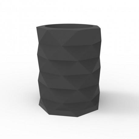 Pot de Jardin Marquis diamètre 80 cm x hauteur 100 cm, Vondom Gris Anthracite
