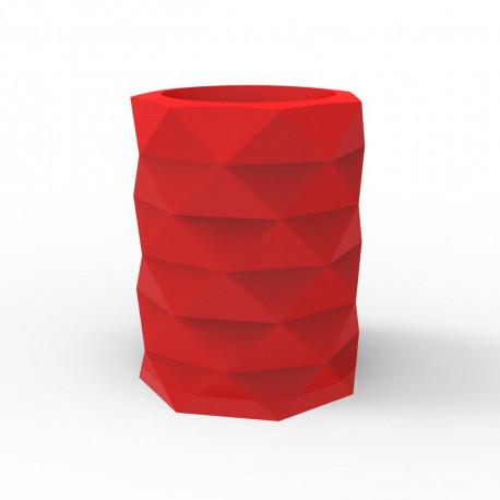 Pot de Jardin Marquis diamètre 80 cm x hauteur 100 cm, Vondom rouge