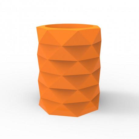 Pot de Jardin Marquis diamètre 80 cm x hauteur 100 cm, Vondom orange
