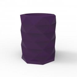Pot de Jardin Marquis diamètre 80 cm x hauteur 100 cm, Vondom violet prune
