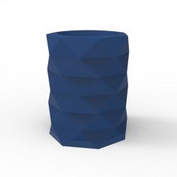Pot de Jardin Marquis diamètre 80 cm x hauteur 100 cm, Vondom bleu marine