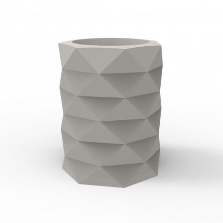 Pot de Jardin Marquis diamètre 80 cm x hauteur 100 cm, Vondom taupe