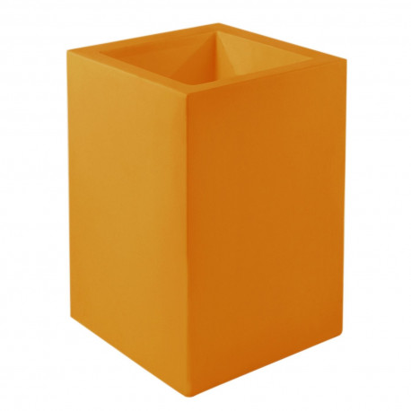 Pot Cubo Alto 40x40xH80 cm, Vondom, orange