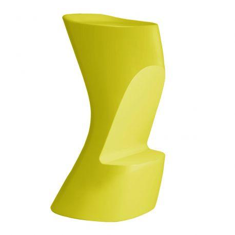 Tabouret de bar Moma High, hauteur d'assise 74 cm, Vondom vert pistache