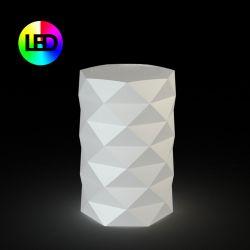 Pot de Jardin Marquis lumineux Leds RGBW diamètre 40 cm x hauteur 60 cm, Vondom