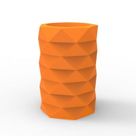 Pot de Jardin Marquis diamètre 40 cm x hauteur 60 cm, Vondom orange Mat
