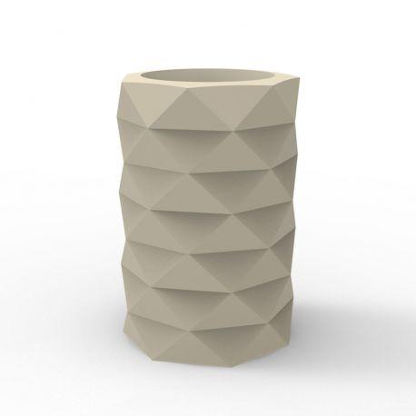 Pot de Jardin Marquis diamètre 40 cm x hauteur 60 cm, Vondom écru Mat
