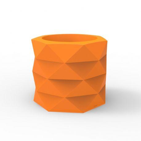 Pot de Jardin Marquis diamètre 60 cm x hauteur 50 cm, Vondom Orange Mat