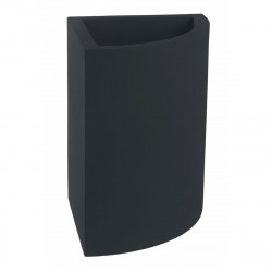 Pot d'angle Angular 50x39xH55 cm, simple paroi, Vondom gris anthracite