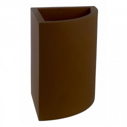 Pot d'angle Angular 39x39xH55 cm, simple paroi, Vondom bronze