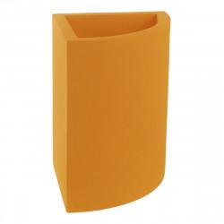 Pot d'angle Angular 50x39xH55 cm, simple paroi, Vondom orange
