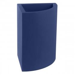 Pot d'angle Angular 50x39xH55 cm, simple paroi, Vondom bleu marine