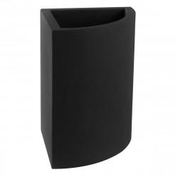 Pot d'angle Angular 50x39xH55 cm, simple paroi, Vondom noir