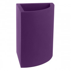 Pot d'angle Angular 50x39xH55 cm, simple paroi, Vondom viole prune