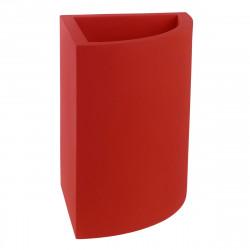 Pot d'angle Angular 50x39xH55 cm, simple paroi, Vondom rouge