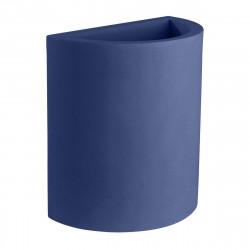 Pot demi Cylindre 50x29xH55 cm, simple paroi, Vondom bleu marine