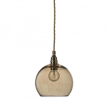 Suspension Rowan diamètre 15,5 cm, Ebb & Flow, marron glacé
