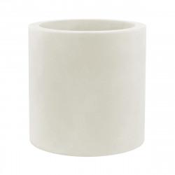 Grand pot Cylindrique Lumineux à Leds Blancs, simple paroi, Vondom, Diamètre 80 x Hauteur 80 cm
