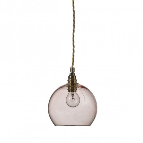Suspension Rowan diamètre 15,5 cm, Ebb & Flow, corail