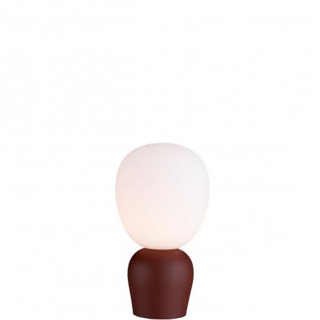 Lampe Buddy diamètre 36cm, Belid, Opal et Rouille