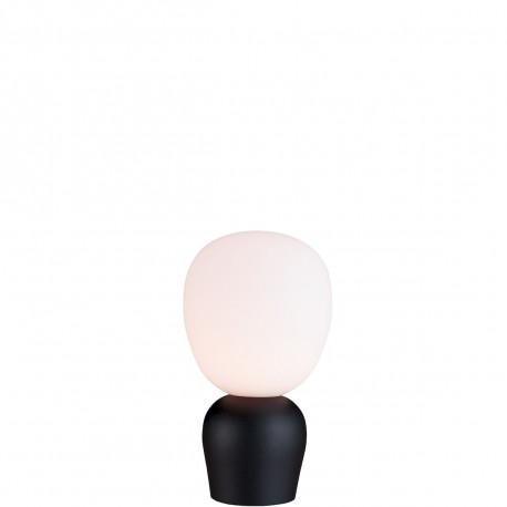 Lampe Buddy diamètre 36cm, Belid, Opal et Noir