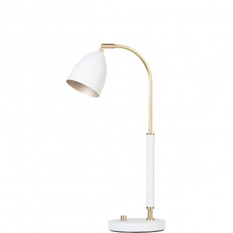 Lampe Deluxe, Belid, Blanc et Laiton