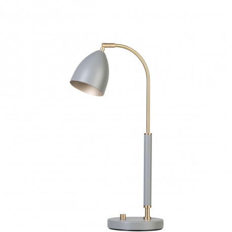 Lampe Deluxe, Belid, Gris et Laiton