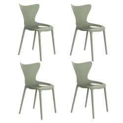 Lot de 4 Chaises Love, Vondom amande
