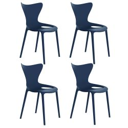 Lot de 4 Chaises Love, Vondom navy