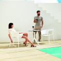 Set de 4 chaises Africa, Vondom blanc