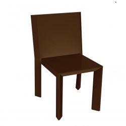 Chaise Frame, Vondom bronze Mat