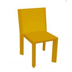 Chaise Frame, Vondom orange Mat