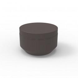 Pouf rond Vela Chill diamètre 60cm, Vondom bronze