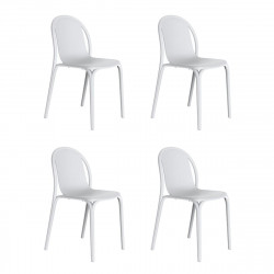 Lot de 4 chaises Brooklyn, Vondom blanc