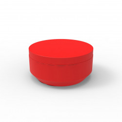 Pouf rond Vela Chill diamètre 80cm, Vondom rouge