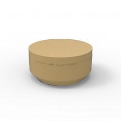 Pouf rond Vela Chill diamètre 80cm, Vondom beige