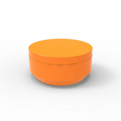 Pouf rond Vela Chill diamètre 80cm, Vondom orange