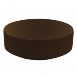 Pouf rond Vela Chill diamètre 120cm, Vondom bronze